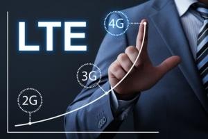 LTE mit hoher Übertragungsgeschwindigkeit